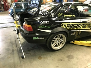 BMW Drift Car Setup | E36 BMW   E36 BMW Drift Car Setup and Suspension Repair