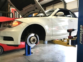 BMW Brake  Repair  Brake Pads and Rotor Replacement