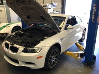 E93 BMW M3 Maintenance  E93 BMW M3 Maintenance. Fresh 10w60 oil service and inspection for this 2011 BMW M3 Convertible.